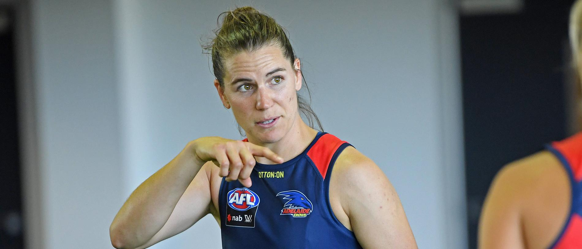 DAY ONE OF CROWS AFLW PRE-SEASON