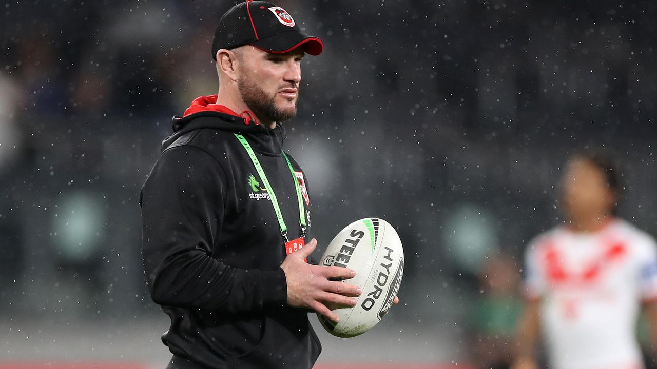 Dean Young is on his way out at the Dragons.