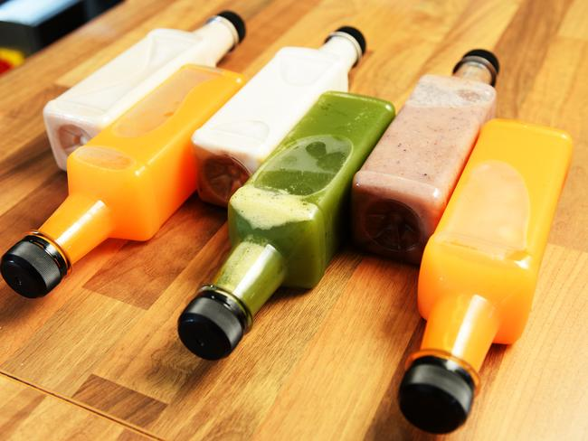 Cold pressed juices are very popular right now, but can contain loads of added sugar.