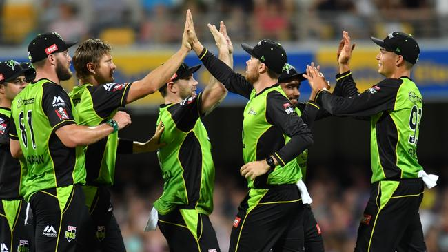 Shane Watson is helping next wave of Thunder players come through.