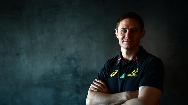 Brumbies coach Stephen Larkham.