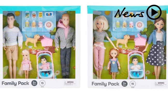 Kmart includes same-sex couples in their family doll sets