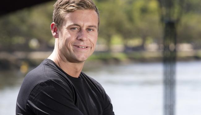 Married At First Sight contestant Ryan Gallagher is pictured at Southbank in Melbourne. Picture: Ian Currie