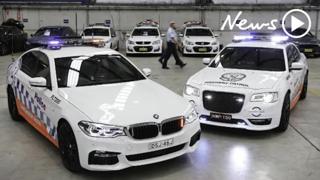 New high-tech cop cars for NSW