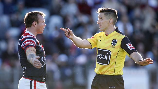 'Over the top': NRL refs boss hits back