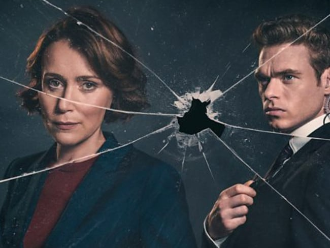 Bodyguard stars Keeley Hawes as Julia Montague and Richard Madden as David Budd.