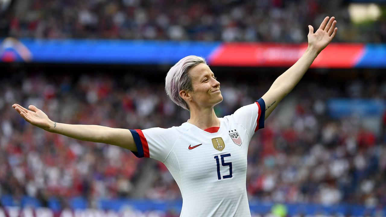 It would be a huge shock if World Cup star Rapinoe did not clinch the women's prize