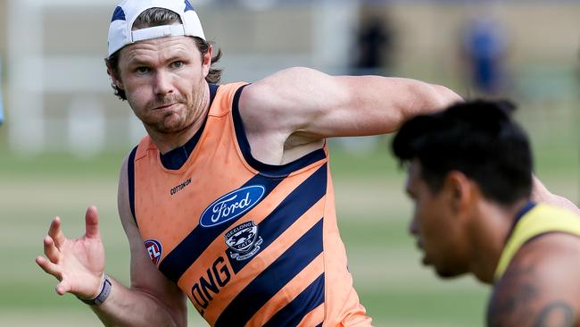 Geelong star Patrick Dangerfield will be a popular SuperCoach selection. Picture: Tim Carrafa