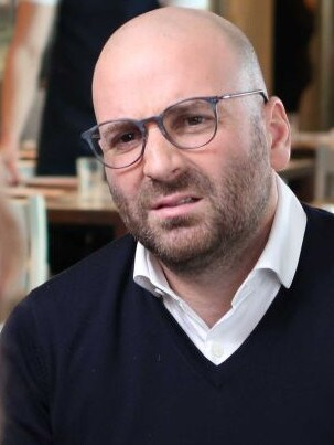 George Calombaris told Sales he'd come good on what he owed his workers. Picture: ABC/7.30