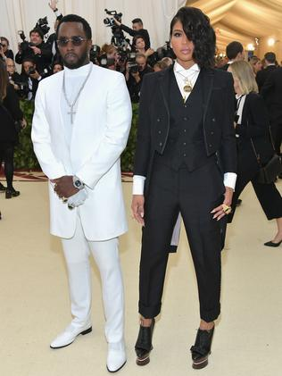 "Sean ""Diddy"" Combs and Cassie attend the 2018 Met Gala in New York City. Picture: Getty"
