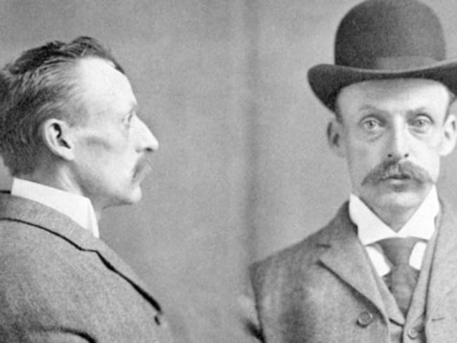 Albert Fish in a 1903 mugshot after an arrest at the relatively young age of 33 years old.