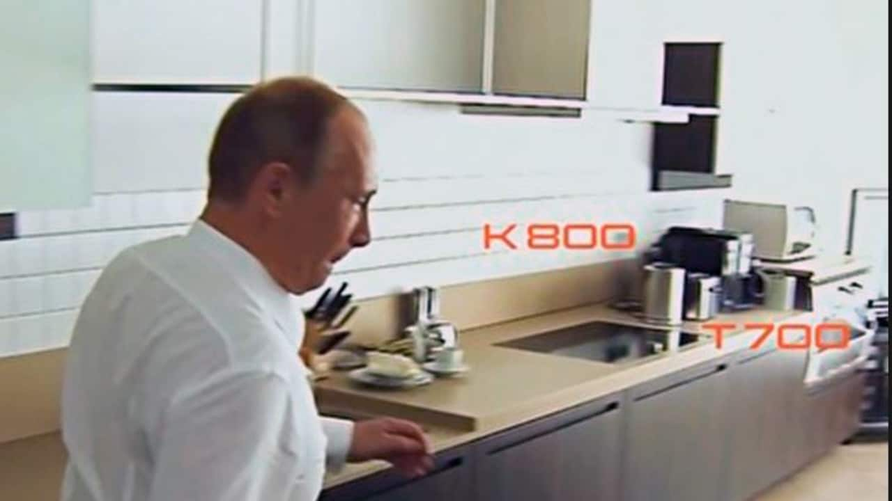 Vladimir Putin Unwitting Star In Advertisement For Toasters