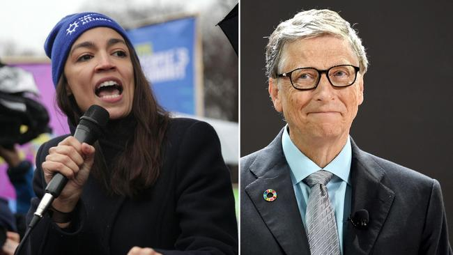 "Bill Gates called the 70 per cent top tax rate ""extreme"" and a ""misfocus""."