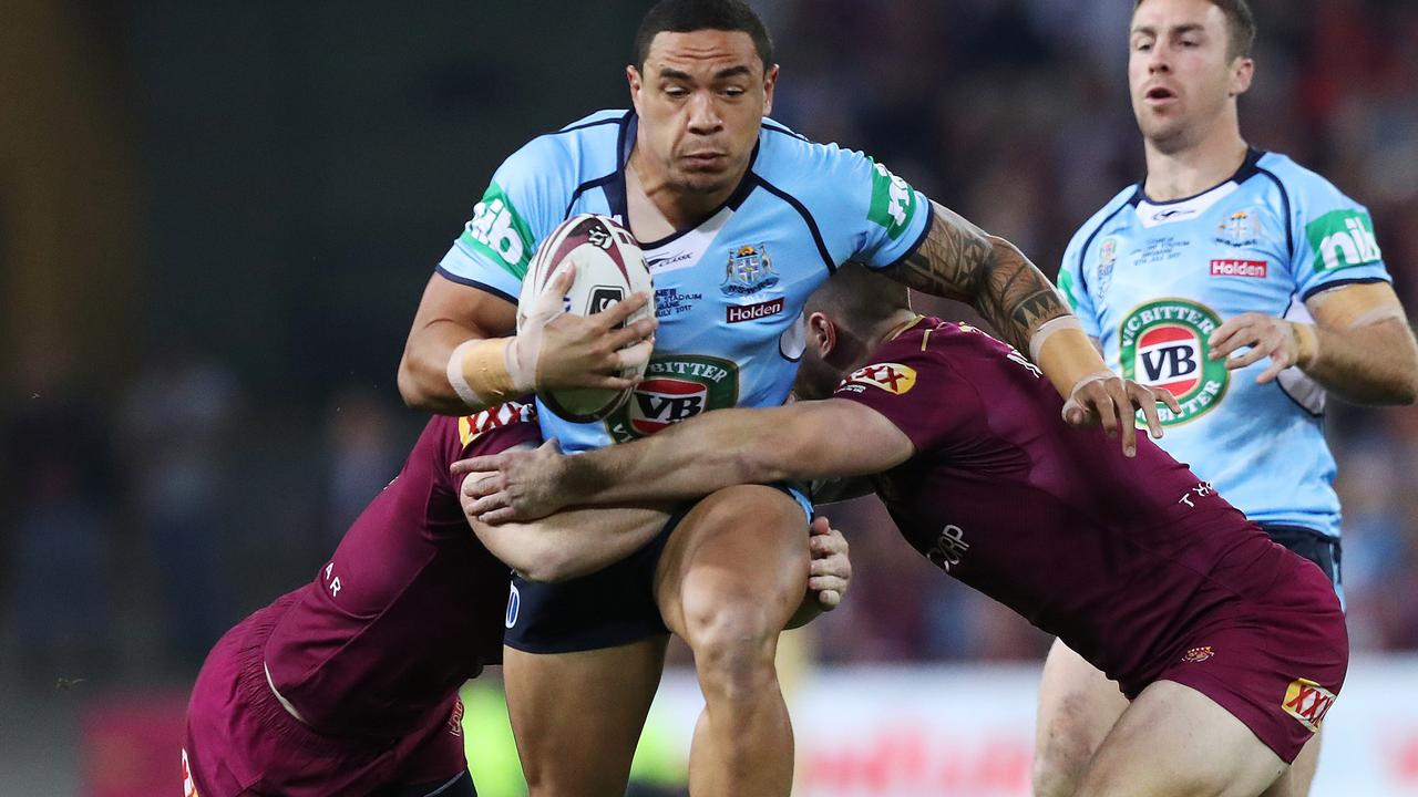 Tyson Frizell is set to retain his spot in the NSW side.