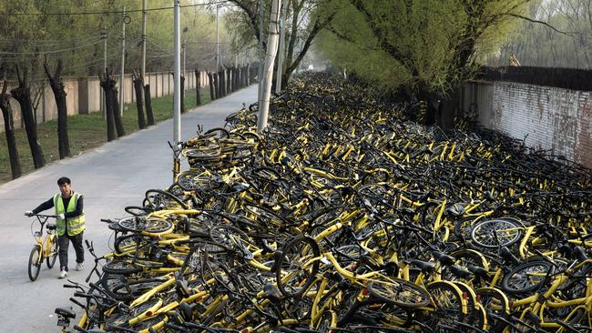 Union Plus Benefits >> Beijing puts its foot down on share bikes, regulation looms