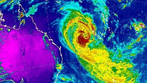 It's looking increasingly likely that Cyclone Oma is QLD and NSW bound