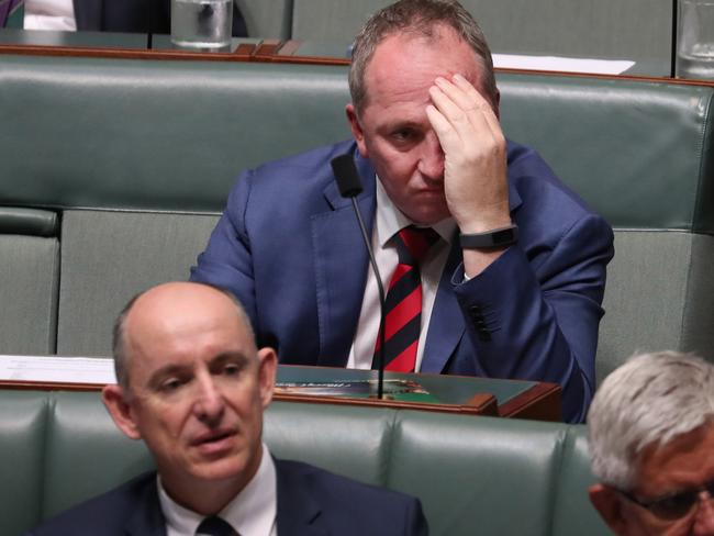 It's been an eventful year for Barnaby Joyce. Picture: Gary Ramage