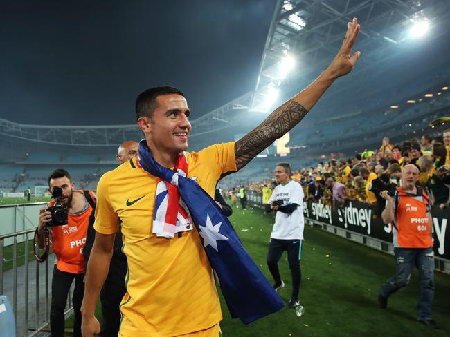 Tim Cahill wants to go to a fourth World Cup.