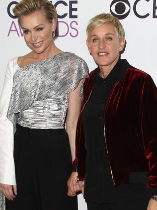 DeGeneres (right) and her wife Porta de Rossi were invited to Frogmore Cottage. Picture: AFP Photo/Tommaso Boddi