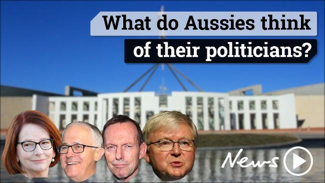 What do Aussies think of their politicians?