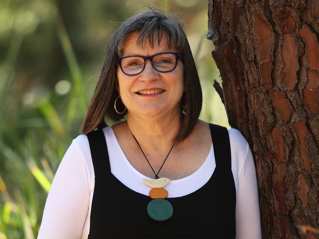 Author Darry Fraser. Her new book is set along the Murray River in the 1800s. Picture: Brett Costello