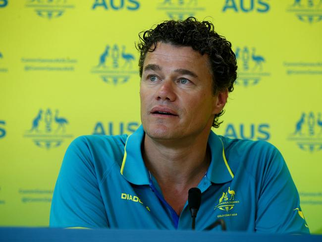 Australian head coach Jacco Verhaeren recognises the need to revive swimming in NSW. Pic: Adam Head