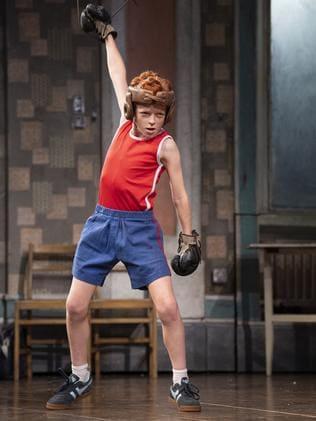 Jamie Rogers as Billy Elliot. Picture: James D. Morgan