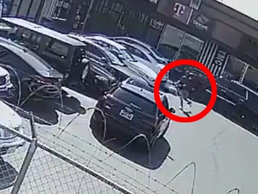 Nipsey Hussle CCTV shooting video.