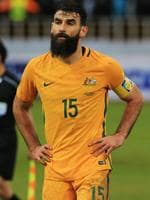 Mile Jedinak of the Socceroos after the Socceroos v Iraq World Cup Qualifier at PAS Stadium, Tehran, Iran. Picture: Mark Evans