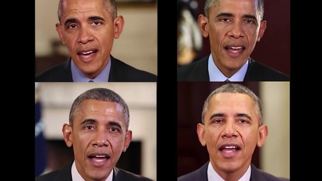 Technology allows people to make convincing fake videos of almost anyone, just like this one of Barack Obama.