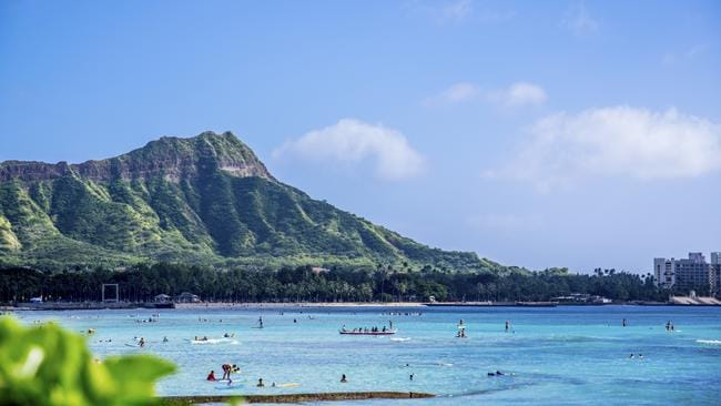 Waikiki Beach in Hawaii. Picture: iStock
