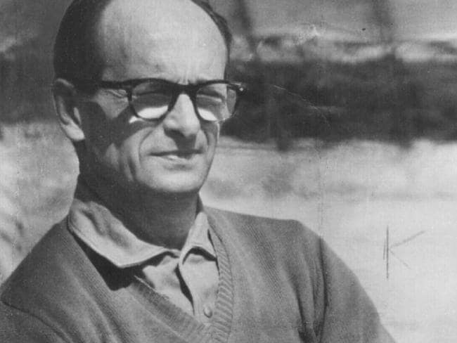 Nazi war criminal Adolf Eichmann fled to Argentina. Picture: News Corp