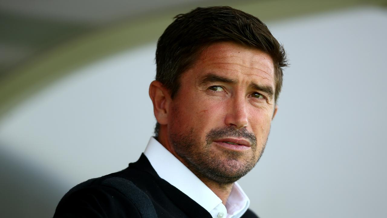 Harry Kewell was sent to the stands on debut for Notts County.