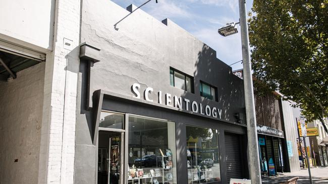 The current Church of Scientology office in Pulteney St, Adelaide.