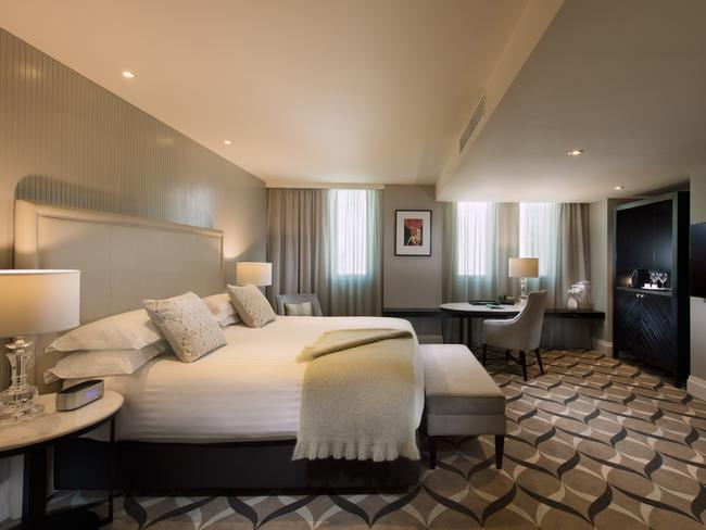 Australia's best hotel bed can be found at Mayfair Hotel in Adelaide.