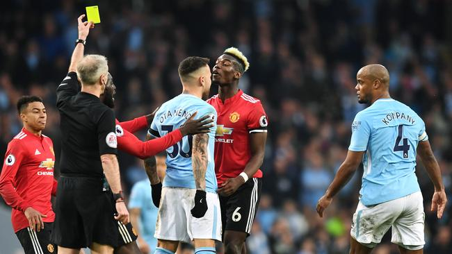 The Manchester Derby is always a heated affair.