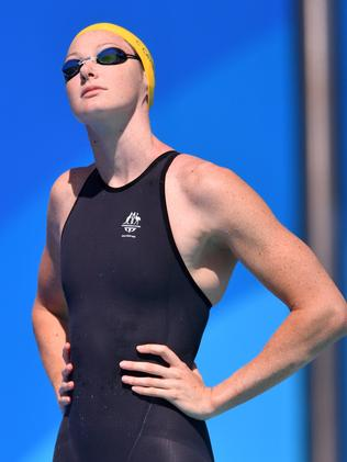 You're off the hook, Cate Campbell. (AAP Image/Darren England)