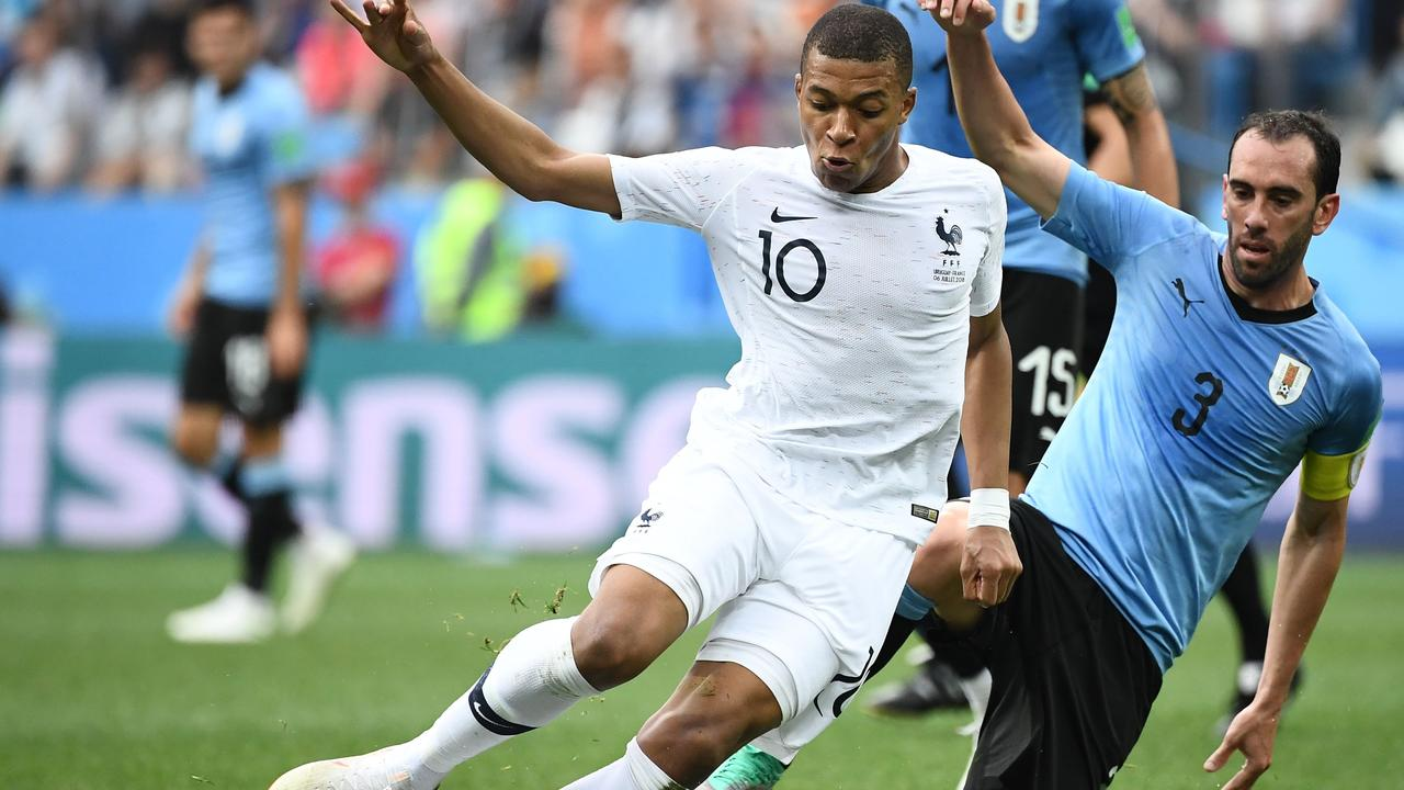 Kylian Mbappe dazzled against Uruguay.