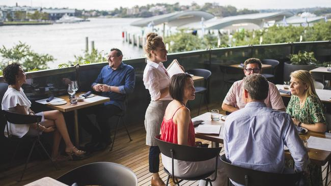 Barangaroo is a new development on Sydney's waterfront drawing huge crowds.