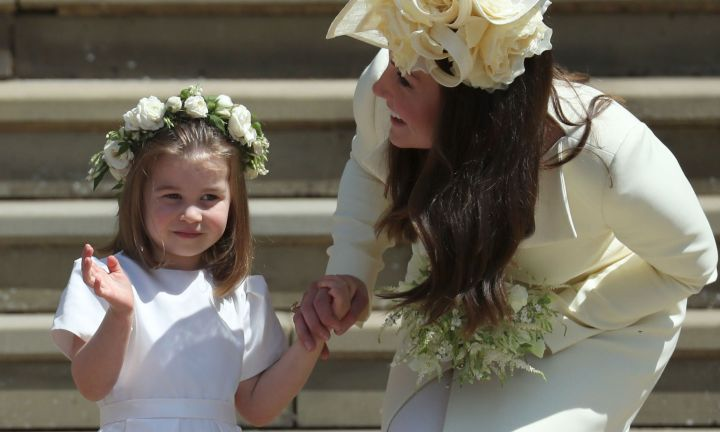 How the Duchess of Cambridge kept her kids calm at the Royal Wedding