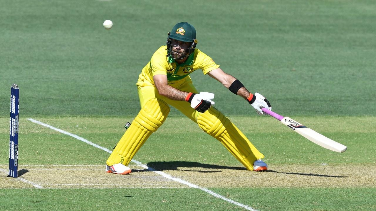 Glenn Maxwell dominated in his new position in the batting order.