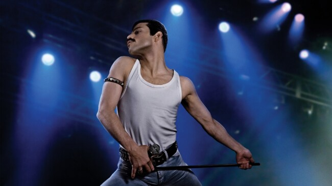 Rami Malek as Freddie Mercury in 'Bohemian Rhapsody'. Photo: Fox