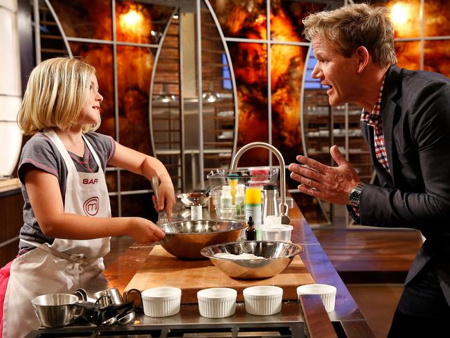 Ramsay hosts and judges  <i>MasterChef Junior </i>where talented pint-sized chefs are taught tips and tricks.