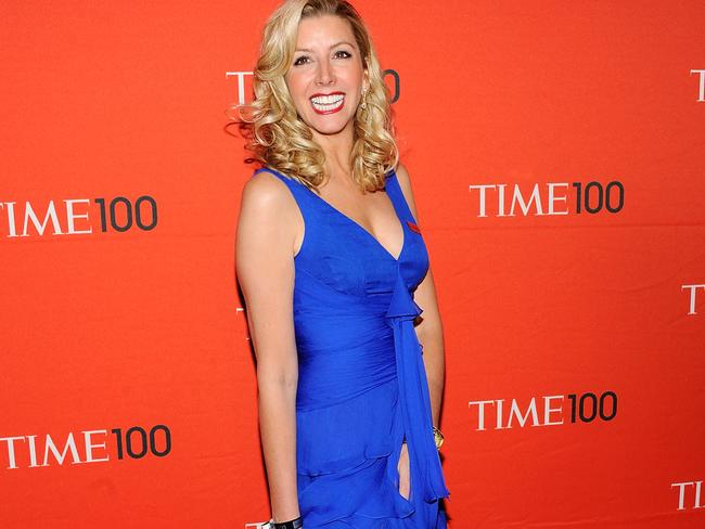 Acting on her great idea didn't only give Sarah Blakely great wealth, but she was named one of the world's most influential people. Picture: Evan Agostini / AP