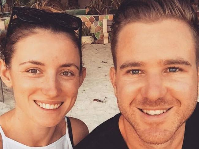 Perth residents Jolie King and Mark Firkin had been travel blogging their way from Australia to Europe when they were detained in Iran. Picture: AAP.