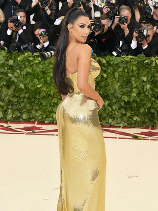 Kim Kardashian at the 2018 Met Gala in New York City. Picture: AFP