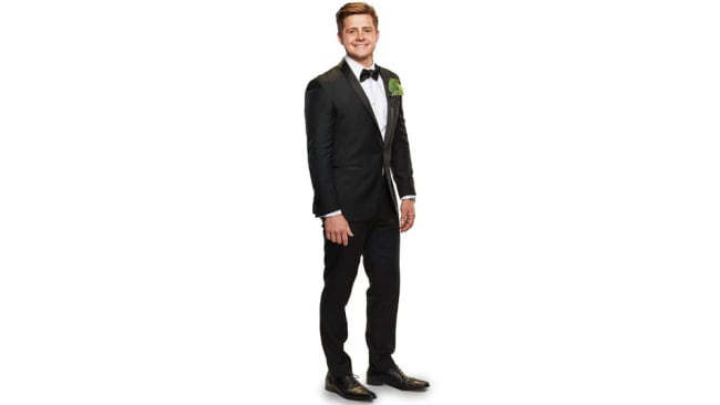 Mikey Pembroke, MAFS 2020 groom. Image: Channel Nine