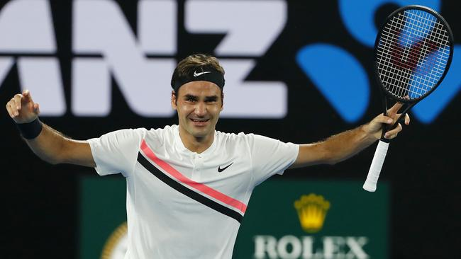 Roger Federer has won a 20th Grand Slam title. Photo: Michael Klein
