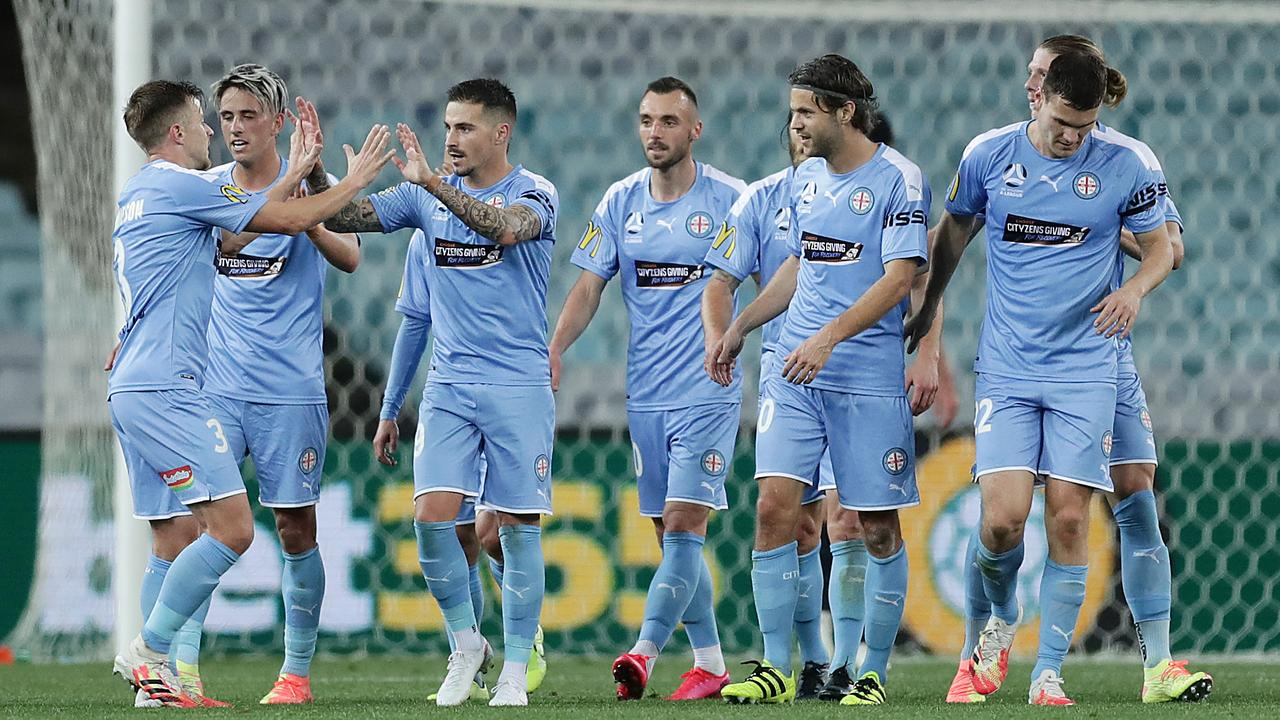 Melbourne City has made a statement in its hunt for a top-two spot.