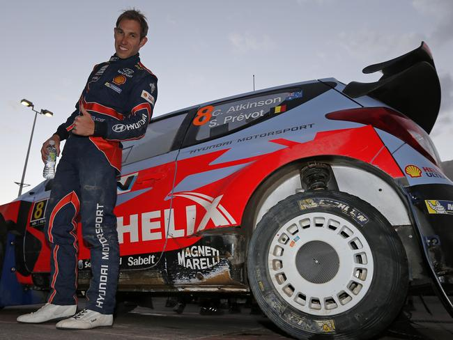 Atkinson will drive for Hyundai at Rally Australia.